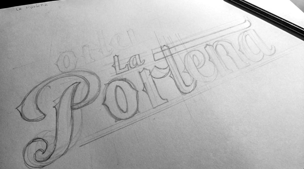 Boceto La Porteña