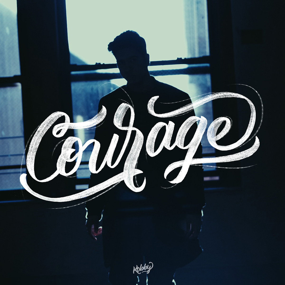 Courage lettering
